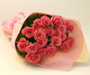 バラの花束◆ピンク17本