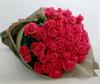 ◆バラ(薔薇)の花束◆ピンク57本