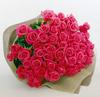 バラの花束 ピンク70本