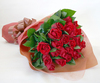 ◆バラ(薔薇)の花束◆レッド22本