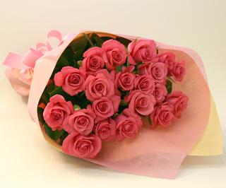 バラの花束◆ピンク18本