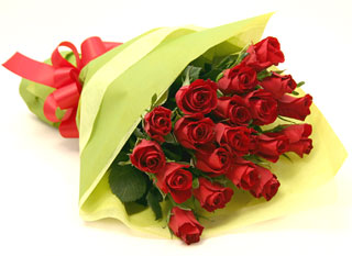 ◆バラ(薔薇)の花束◆レッド20本