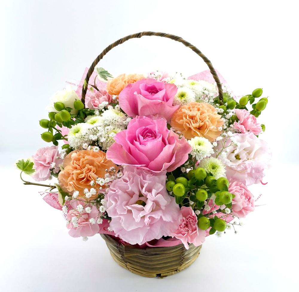 周年祝いの花 フラワーアレンジメント *レジーナ*