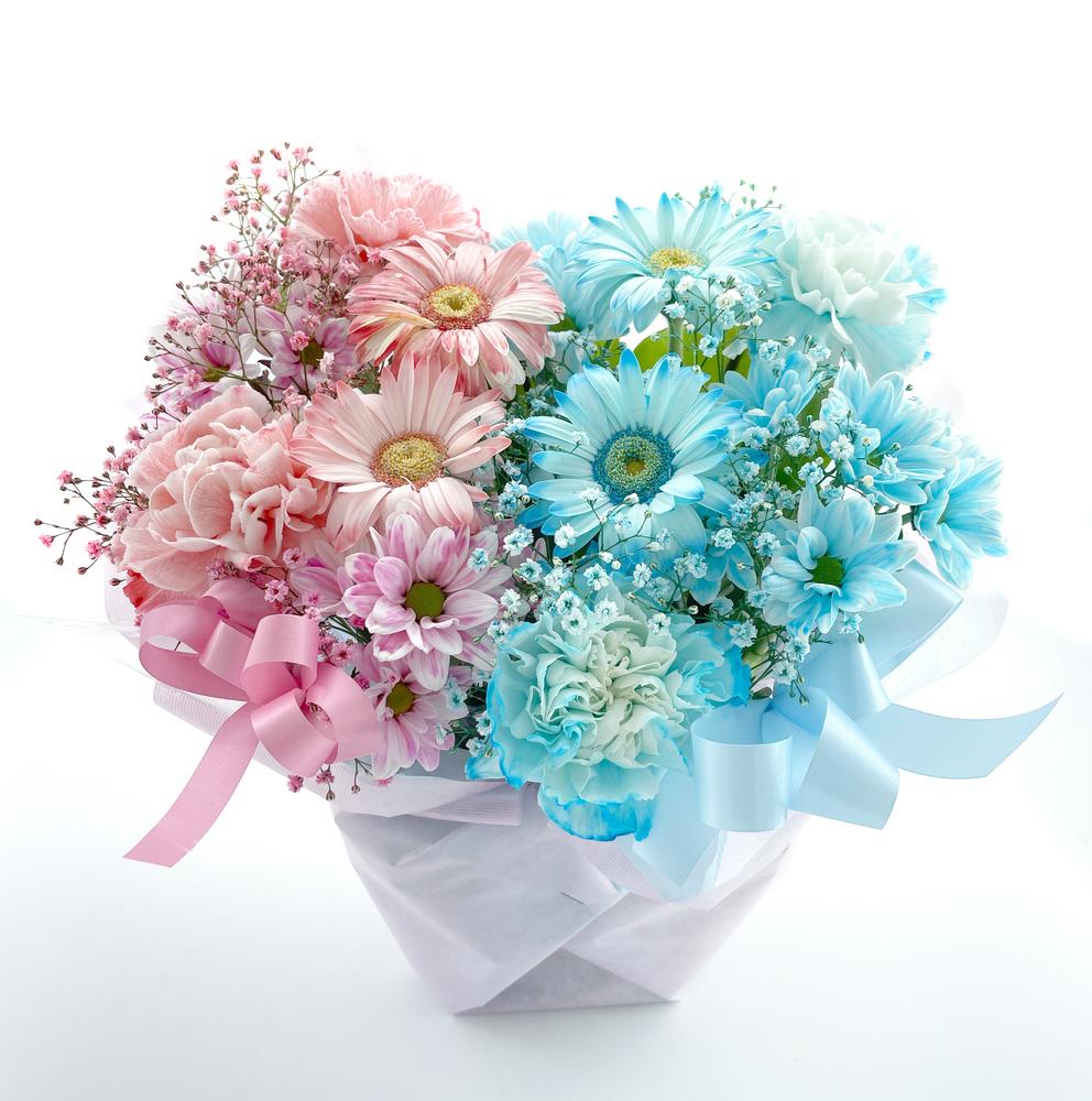 出産祝いのお花 フラワーアレンジメント *クレオ*