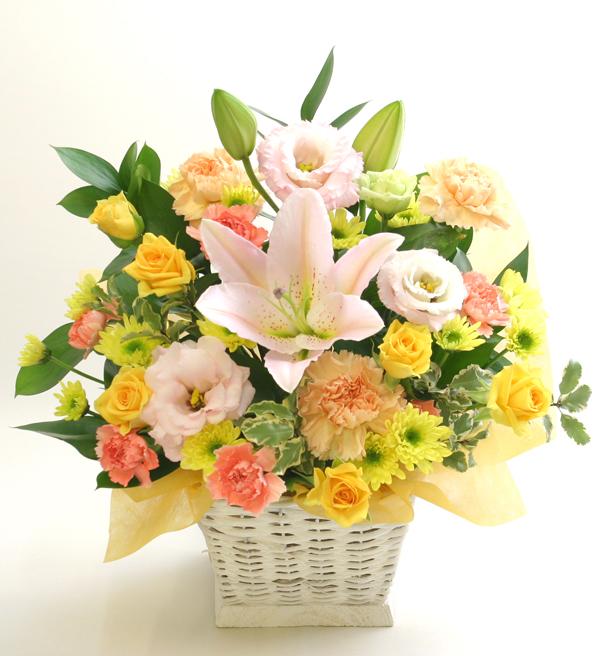 古希のお祝い花 フラワーアレンジメント *ミレーユ*
