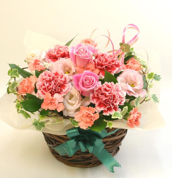 傘寿祝いの花 フラワーアレンジメント *クレオ*