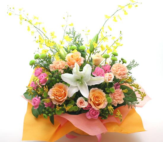 進学、就職祝いの花 フラワーアレンジメント *タウルス*