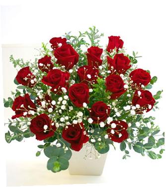 還暦祝いの花 *バラのアレンジメント*