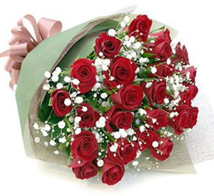 誕生日祝いの花 *バラの花束*レッド15本