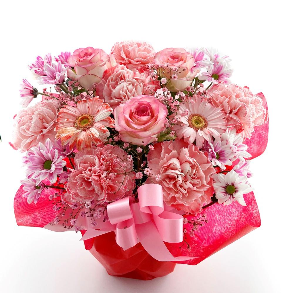 リニューアル、改装のお祝い花 フラワーアレンジメント *キャンサー*