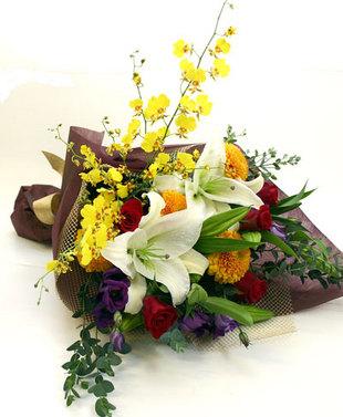 米寿祝いの花 *花束*ジュピター