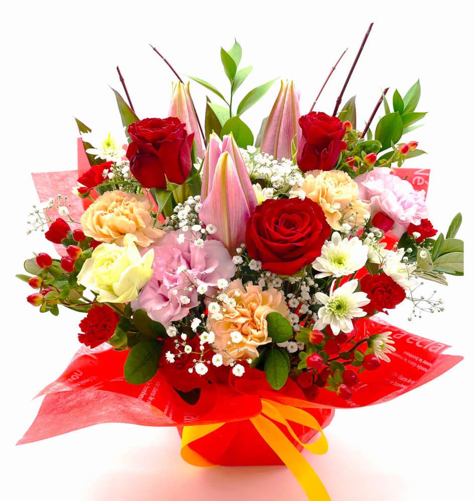 個展、出展のお祝い花 *フラワーアレンジメント*ボルックス