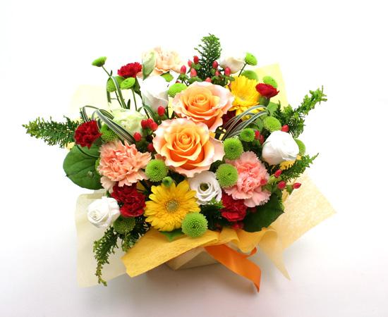 出演祝い・発表会の花 おまかせアレンジ4000円
