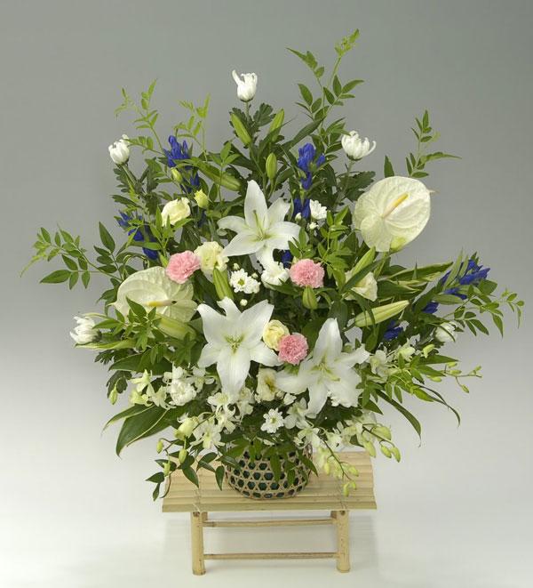 <お供えの花> フラワーアレンジメント 大地