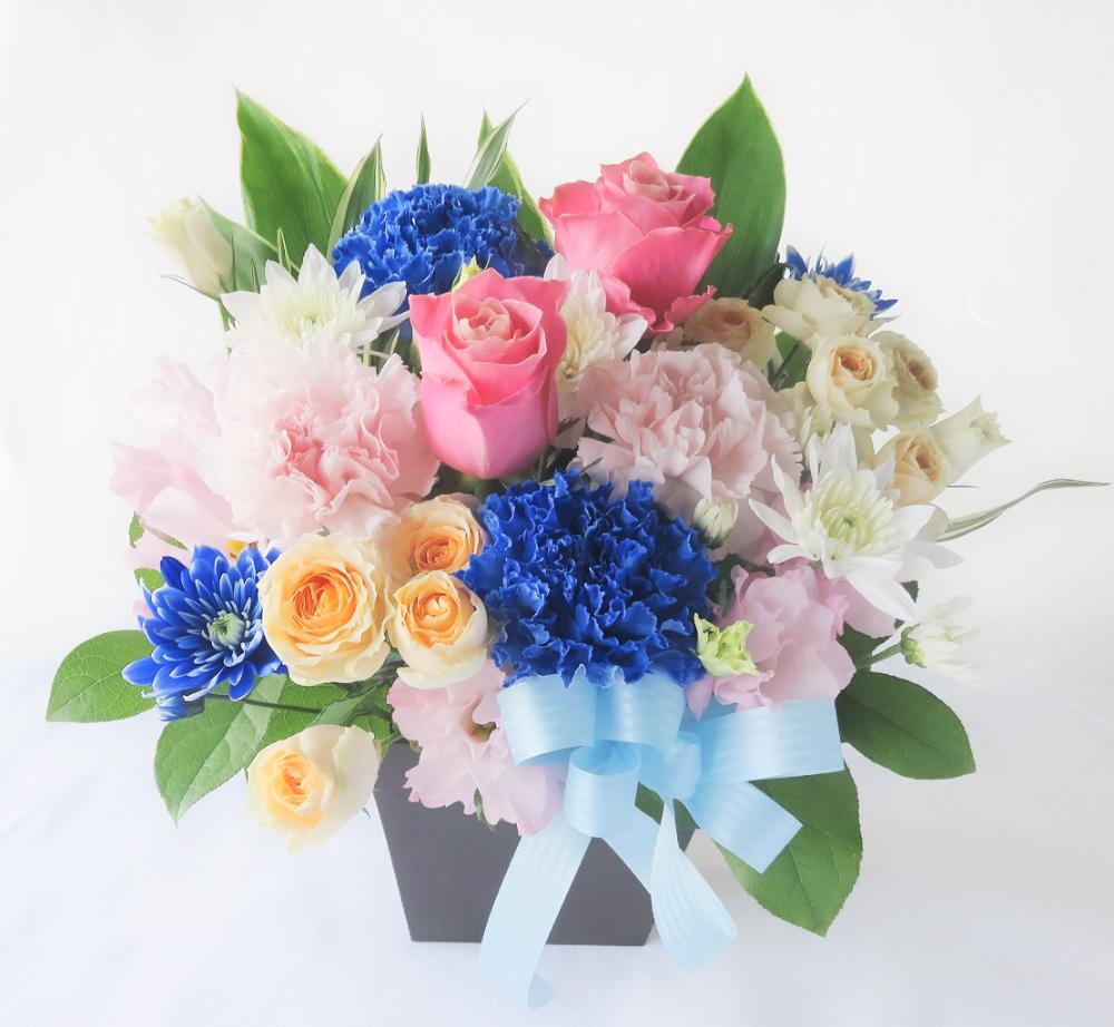 ペット用お供え花 フラワーアレンジメント アンドロメダ