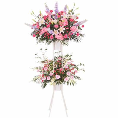 【花キューピット】祝い用スタンド2段