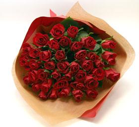 *バラの花束*40本以上はかなり存在感あります