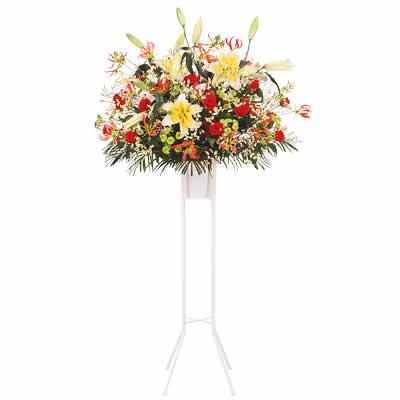【花キューピット】祝い用スタンド