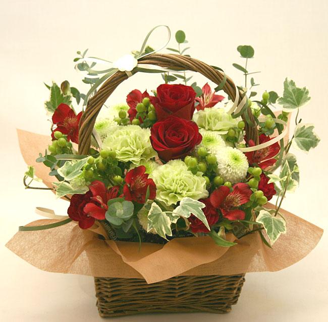 古希・喜寿の花●フラワーアレンジメント ベルモンド