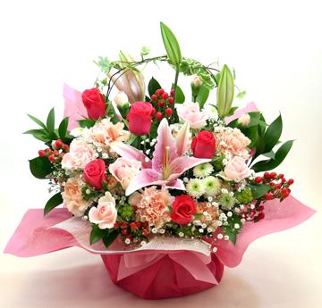 古希・喜寿の花●フラワーアレンジメント グレッヘン