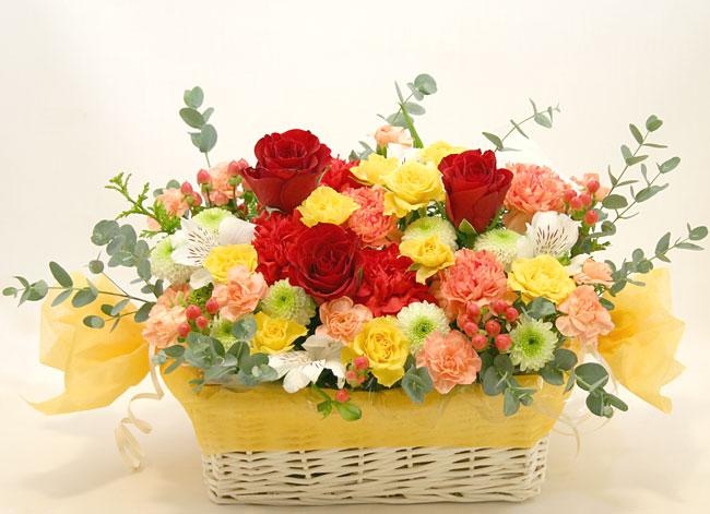 古希・喜寿の花●フラワーアレンジメント ノア