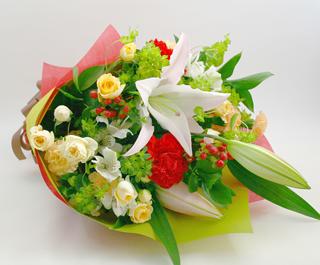 お祝い花●花束 ティーナ