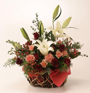 お祝い花●フラワーアレンジメント プレジデント
