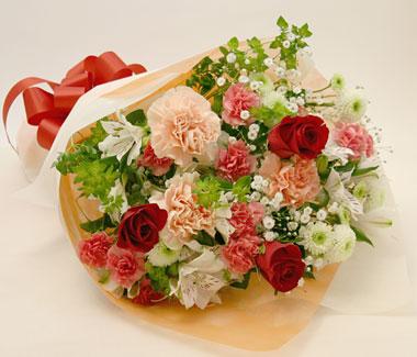 誕生日の花●花束 プリマ
