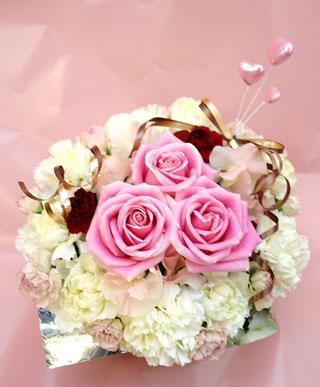 誕生日の花●フラワーケーキ(L)