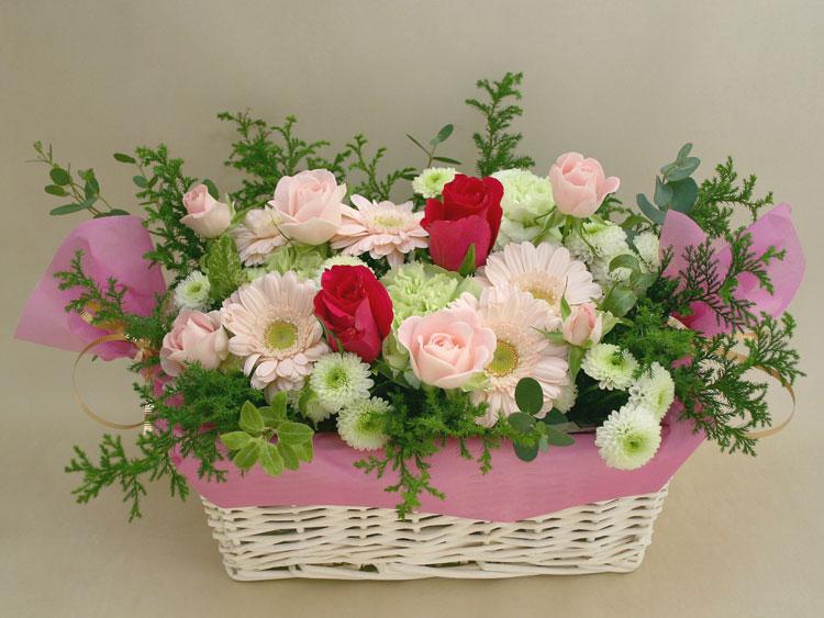 誕生日の花●フラワーアレンジメント パルム