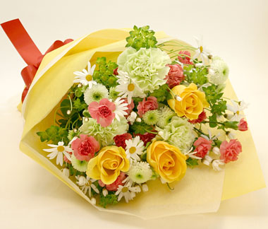 健康的なイメージの花束
