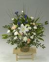 ◇お供え花◇フラワーアレンジメント 白雲