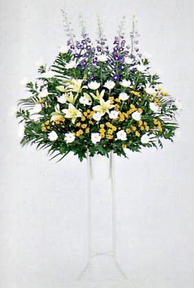 葬儀用スタンド花1段
