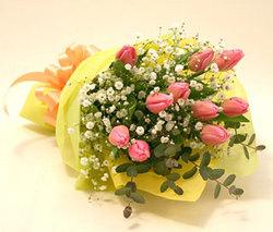 チューリップの花束をupしました!