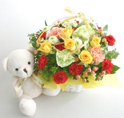2011/5/8母の日着の花ギフトご予約受付中です!