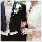 結婚のお祝い花